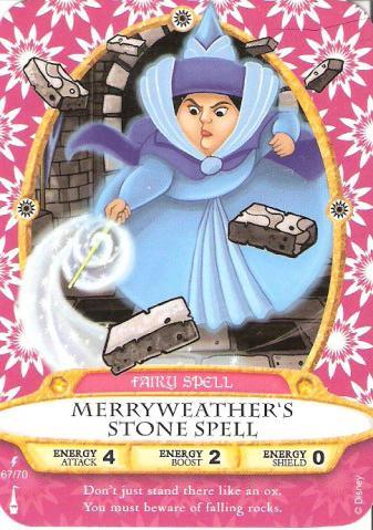Sorcerers of the Magic Kingdom Lightning Bolt Cards #61-70