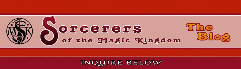 Sorcerers Of The Magic Kingdom: The Blog!